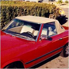 convertible vinyl top upholstery